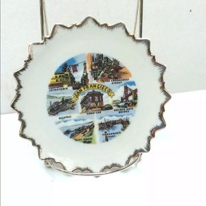 Other - Vintage San Francisco Travel Plate Kitsch Decor
